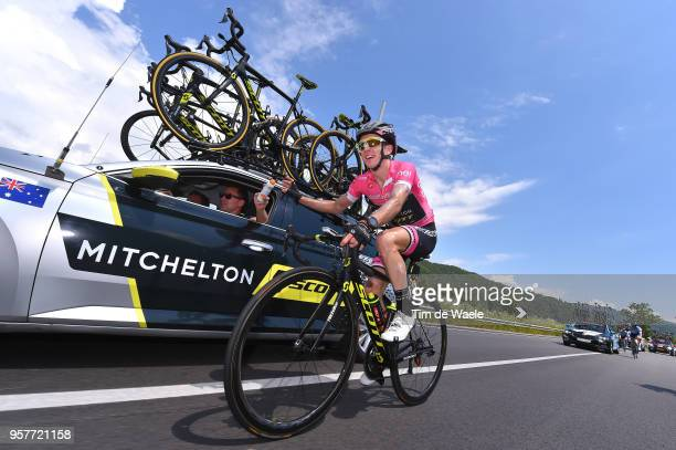 Simon Yates of Great Britain and Team Mitchelton-Scott Pink Leaders Jersey / during the 101th Tour of Italy 2018, Stage 8 a 209km stage from Praia a...
