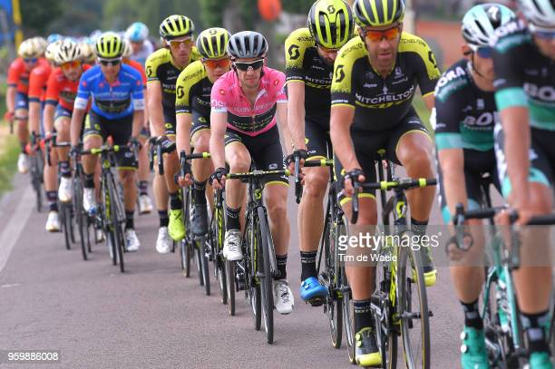 Simon Yates of Great Britain and Team MitcheltonScott Pink Leaders Jersey / during the 101st Tour of Italy 2018 Stage 13 a 180km stage from Ferrara...