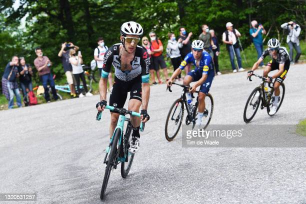 Simon Yates of United Kingdom and Team BikeExchange attack on breakaway during the 104th Giro d'Italia 2021, Stage 19 a 166km stage from...