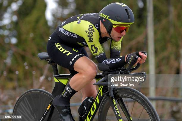 Simon Yates of United Kingdom and Team Mitchelton Scott / during the 77th Paris Nice 2019 Stage 5 a 255km Individual Time Trial stage from Barbentane...