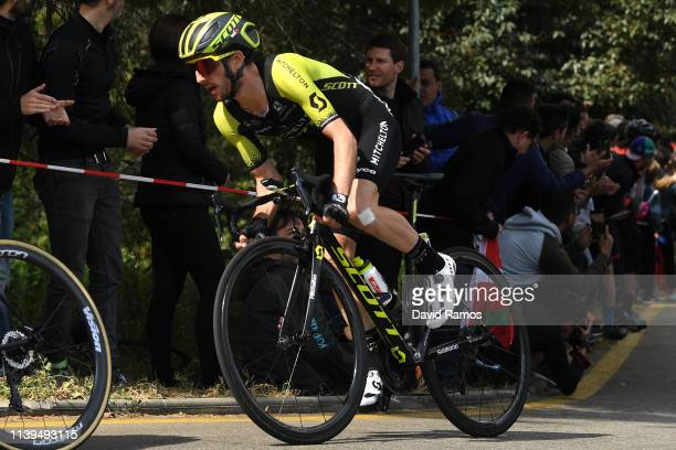 Simon Yates of United Kingdom and Team Mitchelton Scott / during the 99th Volta Ciclista a Catalunya 2019 Stage 7 a 1431km stage from Barcelona to...