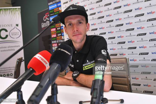 Simon Yates of United Kingdom and Team Mitchelton Scott / during the 102nd Giro d'Italia 2019 Team Mitchelton Scott Press Conference / Tour of Italy...