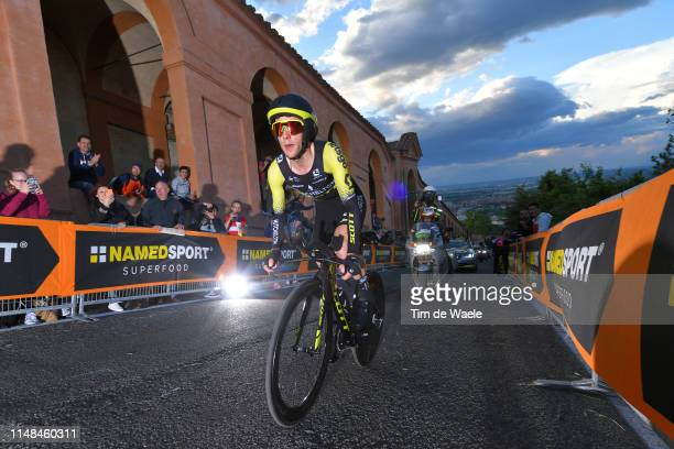 Simon Yates of United Kingdom and Team Mitchelton Scott / during the 102nd Giro d'Italia 2019 Stage 1 a 8km Individual Time Trial from Bologna to San...