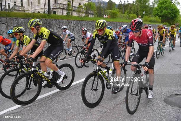 Simon Yates of United Kingdom and Team Mitchelton Scott / Luke Durbridge of Australia and Team Mitchelton Scott / Lucas Hamilton of Australia and...