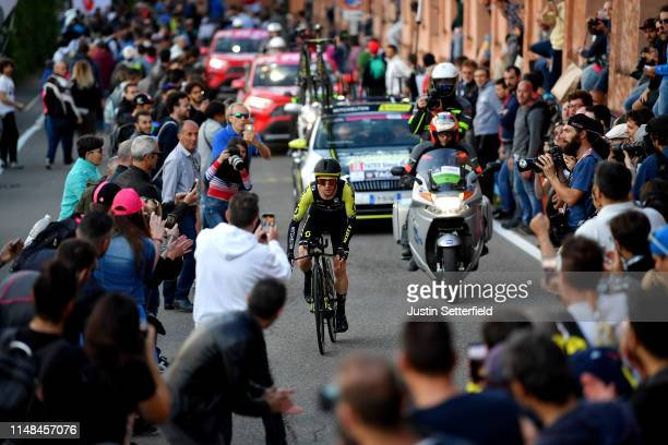 Simon Yates of United Kingdom and Team Mitchelton Scott / Public / Fans / Landscape / during the 102nd Giro d'Italia 2019 Stage 1 a 8km Individual...
