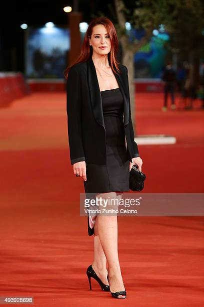 Simona Borioni attends a red carpet for 'Alaska' during the 10th Rome Film Fest on October 23 2015 in Rome Italy
