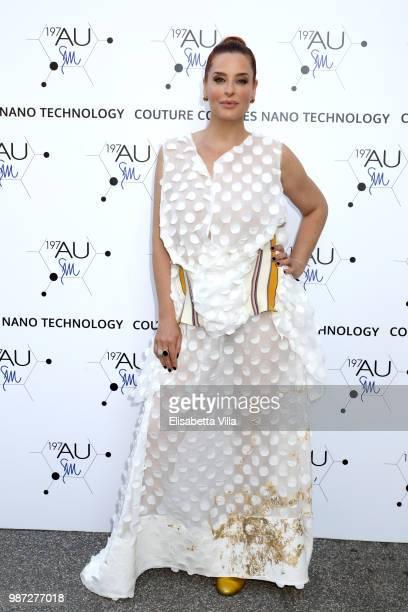 Simona Borioni attends Sfilata AU197SM AltaRoma on June 29 2018 in Rome Italy