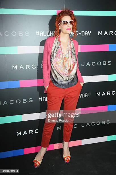 Simona Borioni attends the Marc By Marc Jacobs MbMJSunnies Party at Spazio 900 on May 23 2014 in Rome Italy