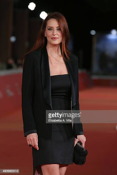 Simona Borioni attends the red carpet for 'Alaska' during the 10th Rome Film Fest at Auditorium Parco Della Musica on October 23 2015 in Rome Italy