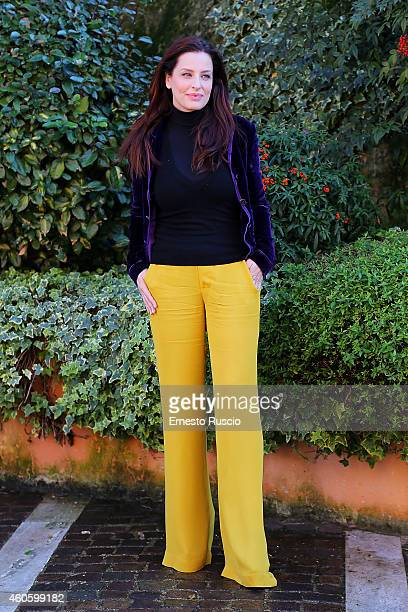 Simona Borioni attends the 'Solo Per Amore' TV movie photocall at Mediaset Studios on December 17 2014 in Rome Italy
