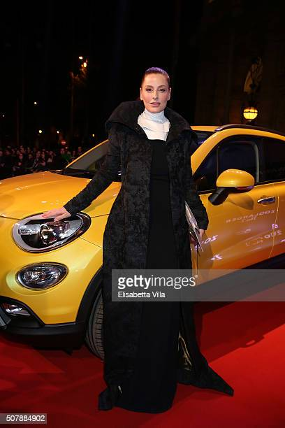 Simona Borioni attends Zoolander No2 Fan Screening with Fiat 500X on January 30 2016 in Rome Italy