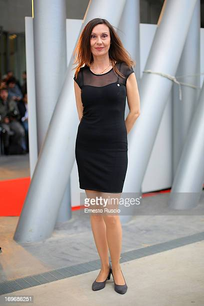Simona Caparrini attends the '2013 Nastri d'Argento' award nominations at Maxxi Museum on May 30 2013 in Rome Italy