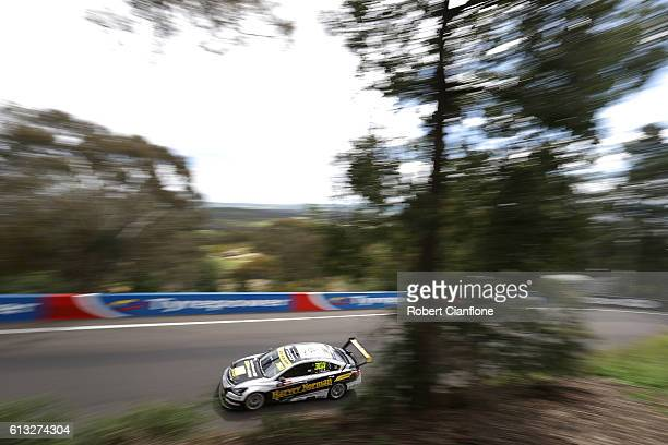 Simona de Silvestro drives the Harvey Norman Supergirls Nissan during practice for the Bathurst 1000 which is race 21 of the Supercars Championship...