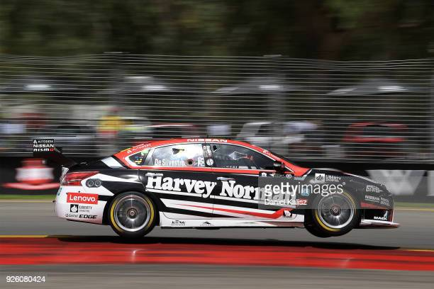 Simona de Silvestro drives the Team Harvey Norman Nissan Altima during qualifying for Supercars Adelaide 500 on March 2 2018 in Adelaide Australia