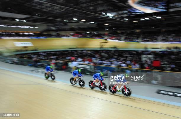 Simona FRAPPORTI / Beatrice BARTELLONI / Tatiana GUDERZO / Silvia VALSECCHI Italie Poursuite par equipes Cyclisme sur piste Championnats du Monde...