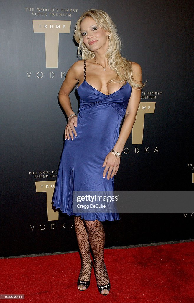 Simona Fusco during Launch Party for Trump Vodka - Arrivals at Les Deux in Hollywood, California, United States.