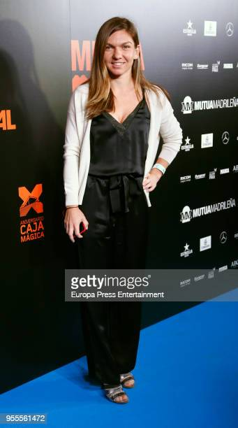 Simona Halep attends the Mutua Madrid Open 2018 Party at Kapital Theatre on May 4 2018 in Madrid Spain