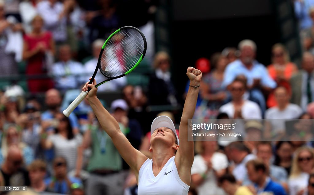 Wimbledon 2019 - Day Eight - The All England Lawn Tennis and Croquet Club : News Photo