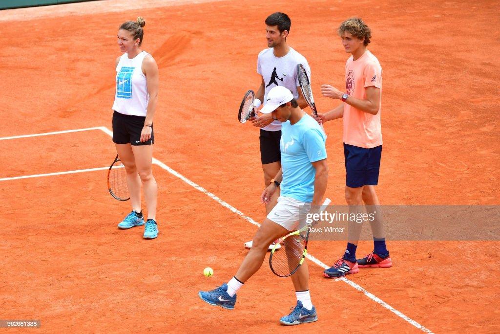 Roland Garros 2018 - Charity Day : News Photo