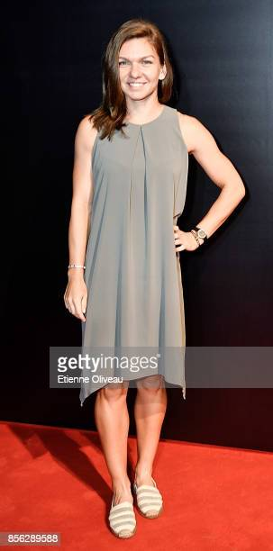 Simona Halep of Romania attends the 2017 China Open Player Party at Beijing Olympic Tower on October 1, 2017 in Beijing, China.