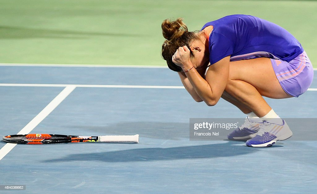 WTA Dubai Duty Free Tennis  Championship - Day Seven : News Photo