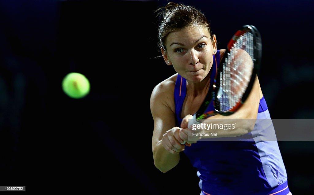 WTA Dubai Duty Free Tennis  Championship - Day Five : News Photo