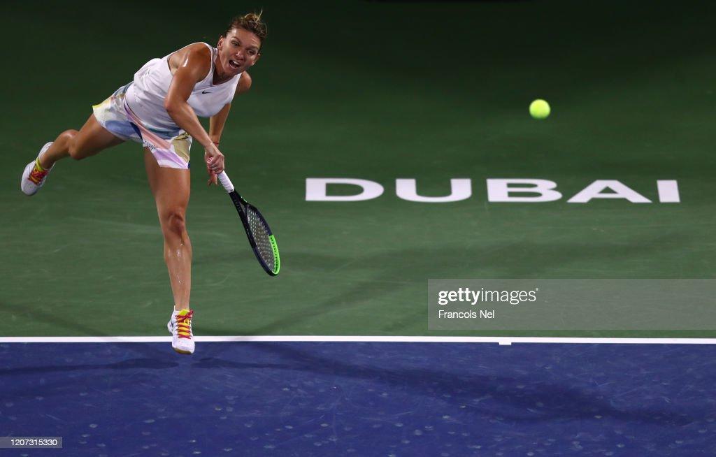 Dubai Duty Free Tennis - Day Three : News Photo