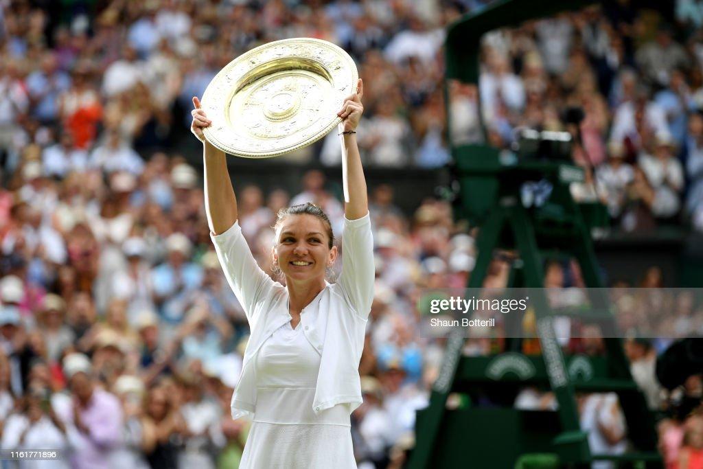 Day Twelve: The Championships - Wimbledon 2019 : Photo d'actualité