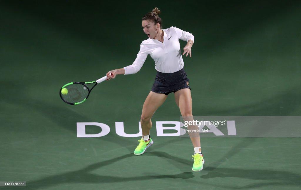 Dubai Duty Free Tennis Championships - Day Five : News Photo