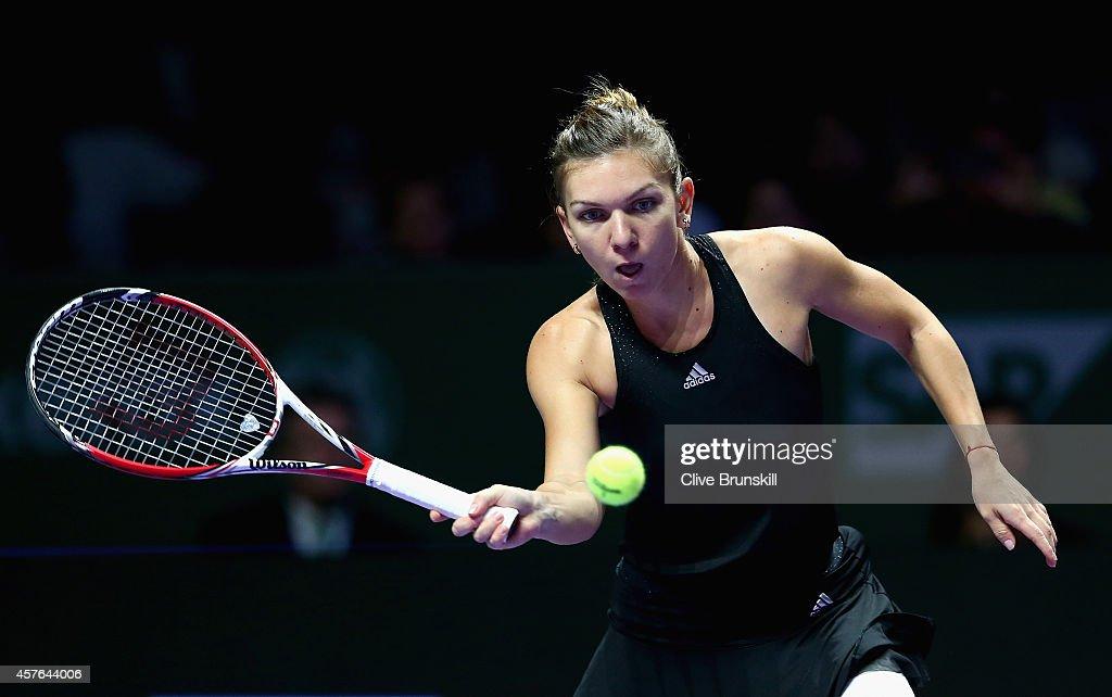 BNP Paribas WTA Finals: Singapore 2014 - Day Three : News Photo