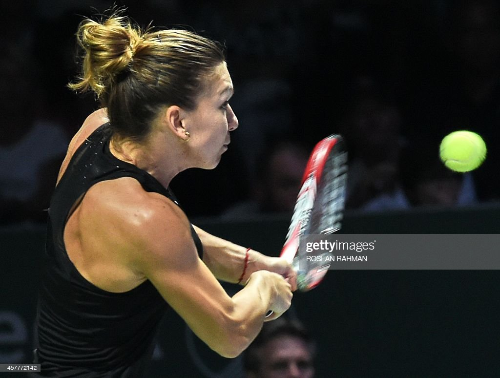 TENNIS-WTA-SIN : News Photo