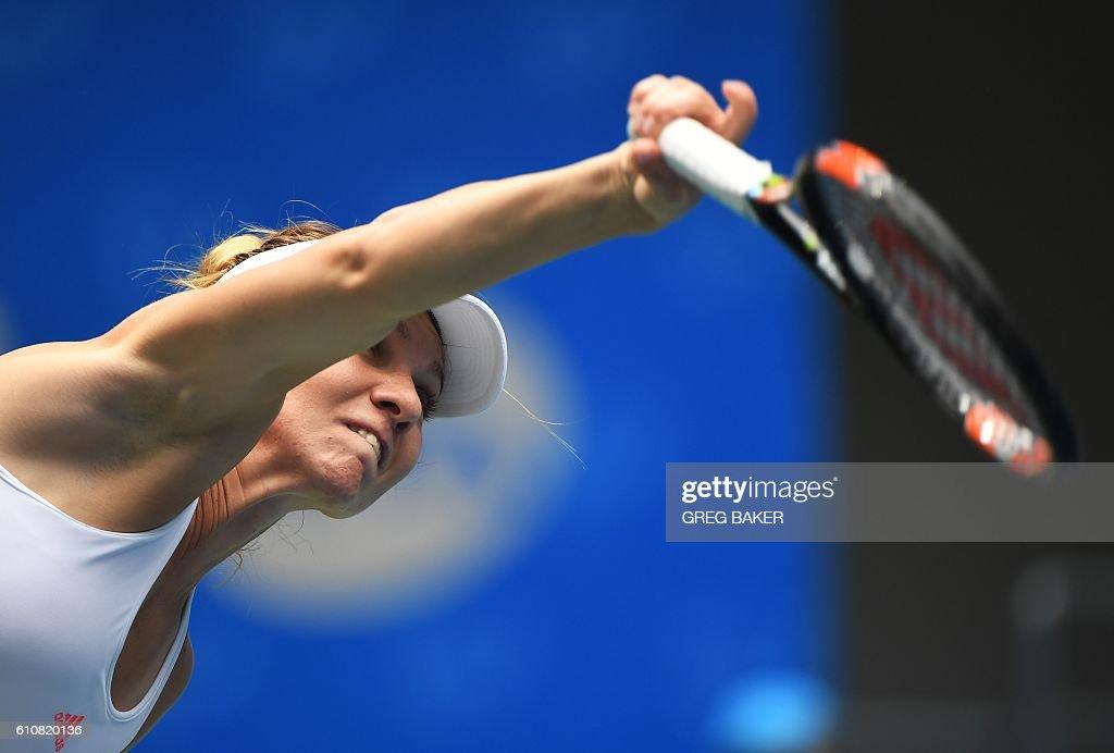 TENNIS-WTA-CHINA : News Photo