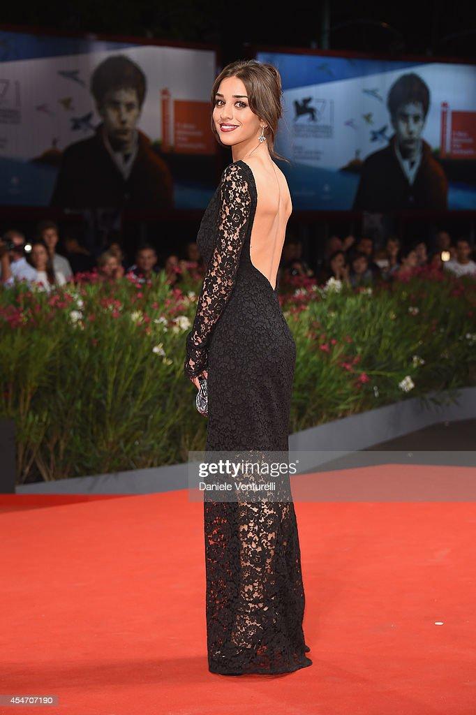 Simona Tabasco attends 'Perez' Premiere during the 71st Venice Film Festival at Sala Grande on September 5, 2014 in Venice, Italy.