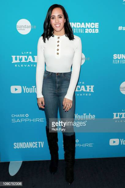 Simone Alexandra Johnson attends the Surprise Screening Of Fighting With My Family during the 2019 Sundance Film Festival at The Ray on January 28...