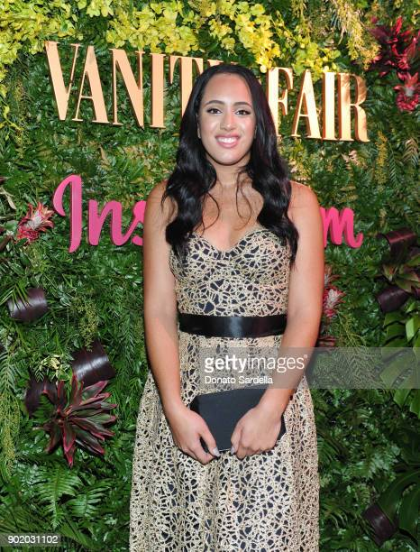 Simone Alexandra Johnson attends Vanity Fair x Instagram Celebrate the New Class of Entertainers at Mel's Diner on Golden Globes Weekend at Mel's...