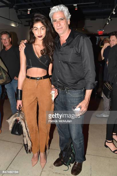 Simone Aptekman and Mark Reay attend IV New York Gallery Grand Opening Exhibition on September 14 2017 in New York City