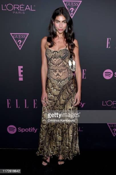 Simone Aptekman attends ELLE Women in Music presented by Spotify and hosted by Nina Garcia Jameela Jamil E Entertainment on September 05 2019 in New...