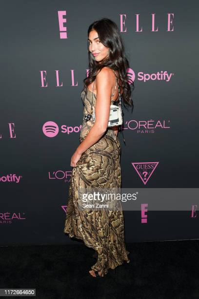 Simone Aptekman attends Nina Garcia Jameela Jamil E Entertainment Host ELLE Women In Music Presented by Spotify at The Shed on September 05 2019 in...