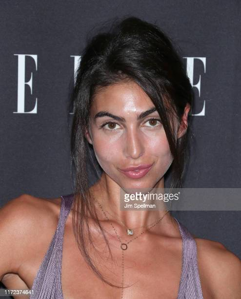 Simone Aptekman attends the E ELLE NYFW Kick Off Party at The Top of The Standard on September 04 2019 in New York City