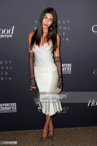 Simone Aptekman attends the The Hollywood Reporter's 9th Annual Most Powerful People In Media at The Pool on April 11 2019 in New York City