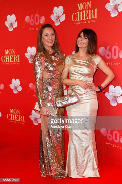 Simone Ballack and Gitta Saxx attend the Mon Cheri Barbara Tag 2017 at Postpalast on November 30 2017 in Munich Germany