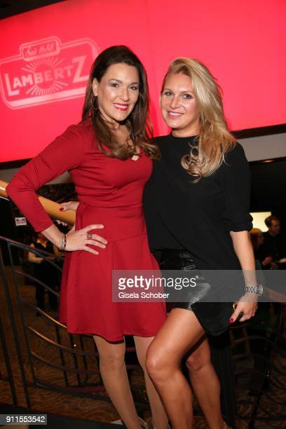 Simone Ballack and Magdalena Brzeska during the Lambertz Monday Night pre dinner at Hotel Marriott on January 28 2018 in Cologne Germany