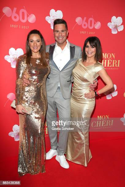 Simone Ballack Eloy de Jong Gitta Saxx during the Mon Cheri Barbara Tag at Postpalast on November 30 2017 in Munich Germany