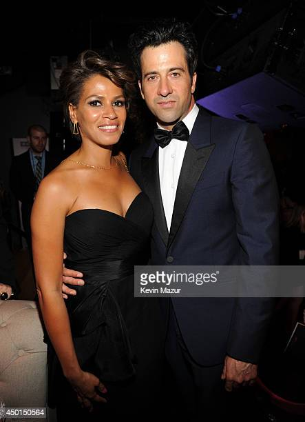 Simone Bent and actor Troy Garity attend the 2014 AFI Life Achievement Award A Tribute to Jane Fonda after party at the Dolby Theatre on June 5 2014...