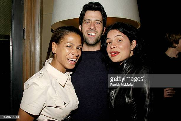 Simone Bent Troy Garity and Zuleikha Robinson attend THE CINEMA SOCIETY and THE WALL STREET JOURNAL after party for Away from Her at Soho Grand Hotel...