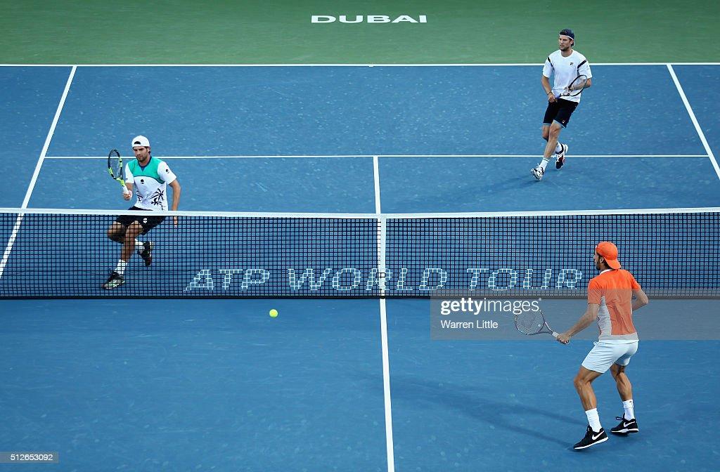 ATP Dubai Duty Free Tennis  Championship - Day Eight : News Photo