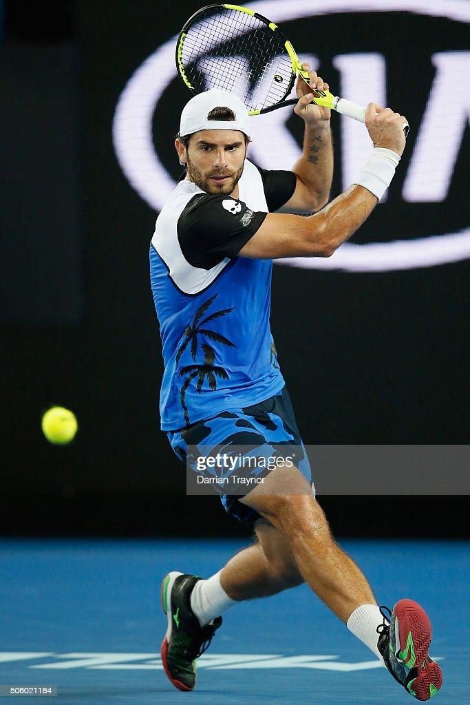 2016 Australian Open - Day 4 : Foto di attualità