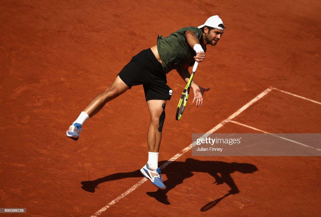 2017 French Open - Day Four : Foto di attualità