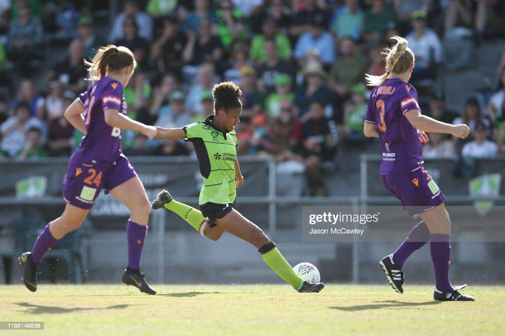 W-League Rd 1 - Canberra v Perth : News Photo