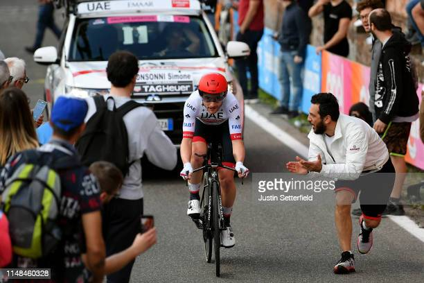 Simone Consonni of Italy and UAE - Team Emirates / Public / Fans / Landscape / during the 102nd Giro d'Italia 2019, Stage 1 a 8km Individual Time...